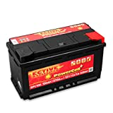 ECTIVE 12V Autobatterie 100Ah 870A EPC-Serie in 8...